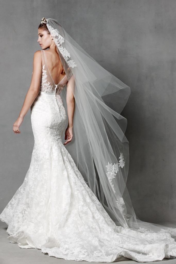 Janan back by Watters Style 5017B Lace Wedding Dress