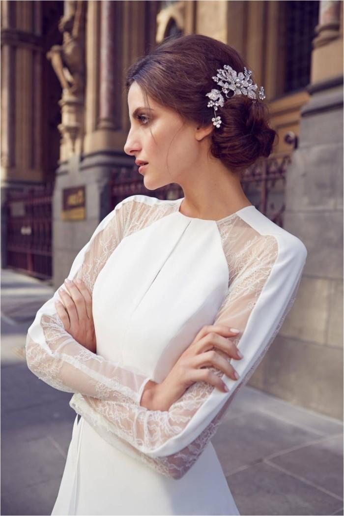 KWH Bespoke - Emmy Long Sleeve Wedding Gown