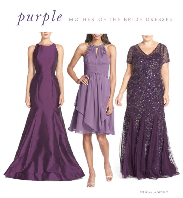 3e848bb7529 Purple Mother of the Bride Dresses