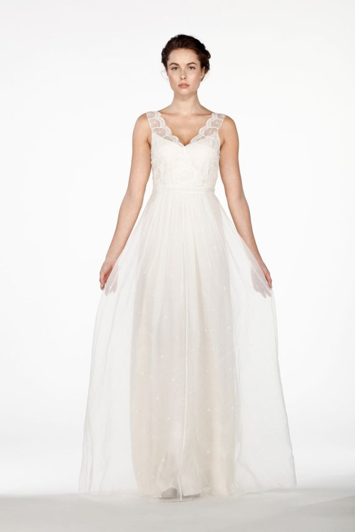 Saja Wedding Dress 2014 Collection AH6235