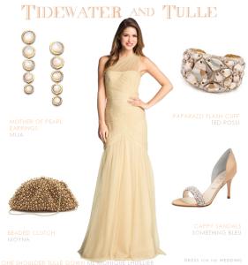 Beach Ivory Wedding Dress