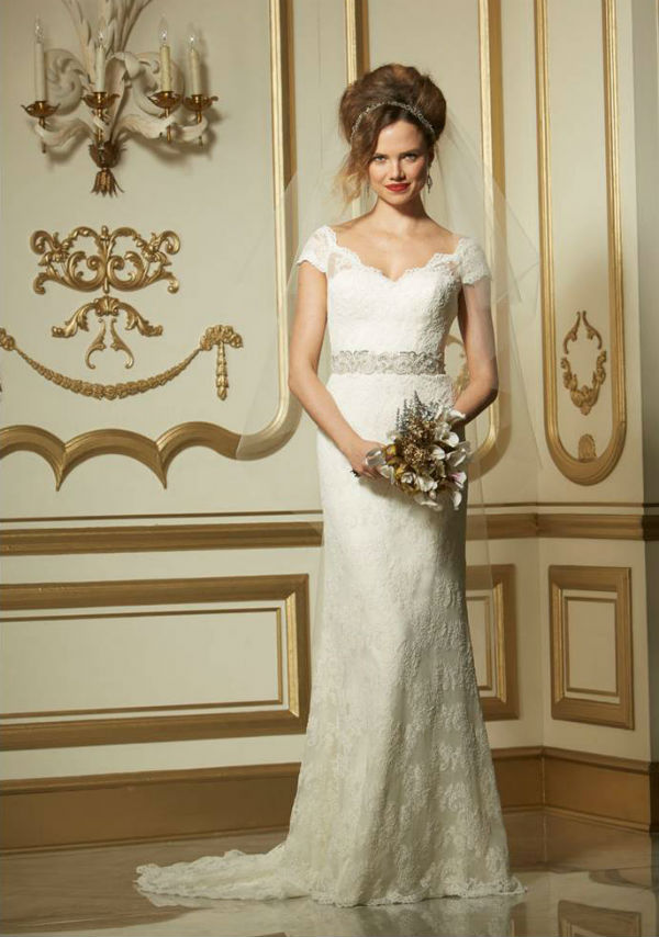 Vesta Wtoo Lace Wedding Dresses