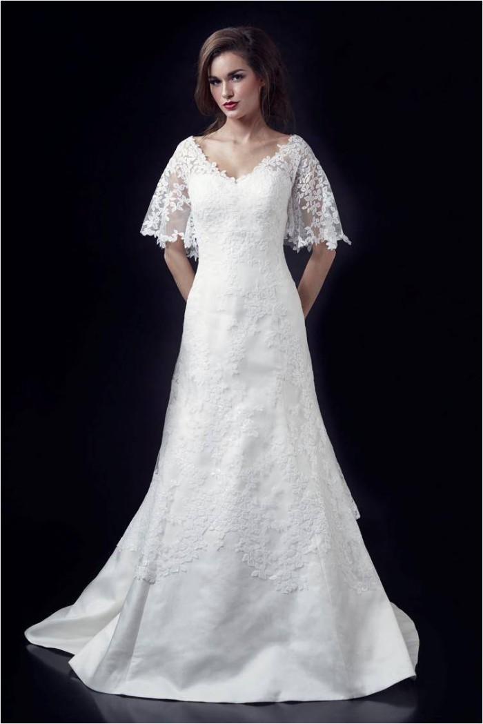 Wedding Dress by Heidi Elnora Chloe Adele_front