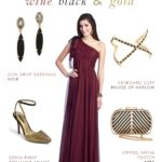 Wine Formal Gown