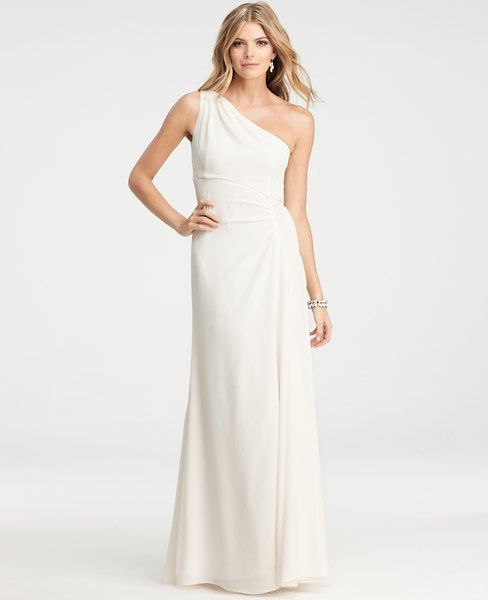 An Ann Taylor Wedding Dress for under $500