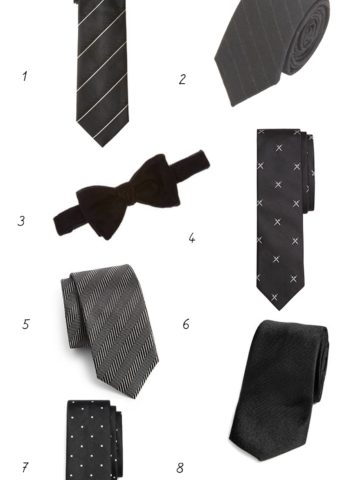 Black ties for Weddings