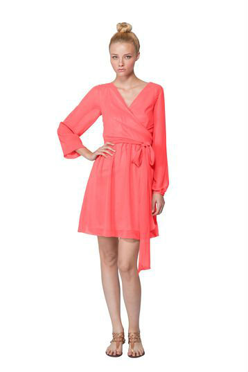 Joanna August Long Sleeve Dress