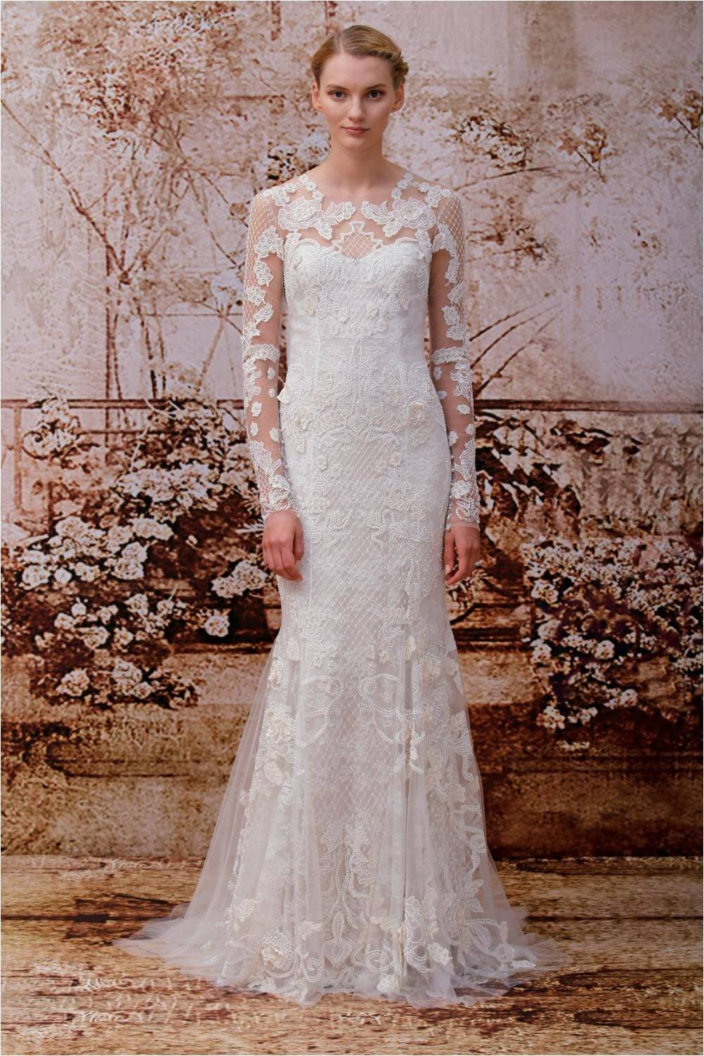 Wedding dress of the day monique lhuillier heirloom for Buy monique lhuillier wedding dress