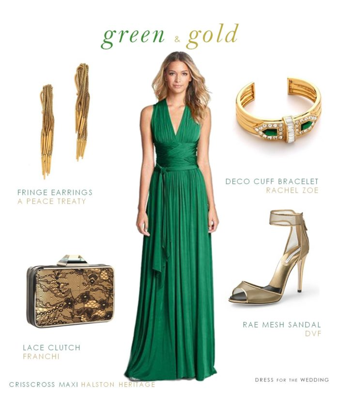 Green Formal Gown | Dress for the Wedding