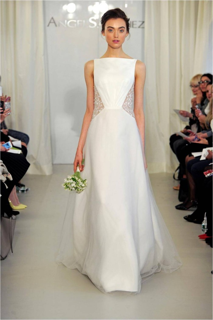 Angel Sanchez 2014 Wedding Dress