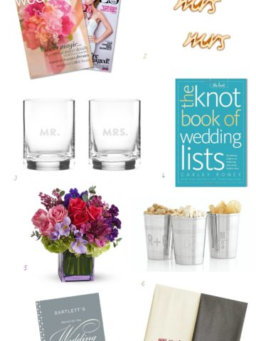 Ideas for Engagement Gifts