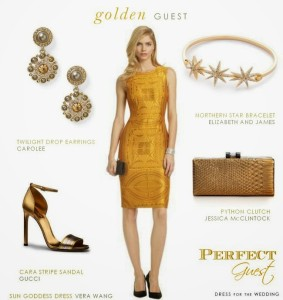 Golden Guest for Aisle Perfect