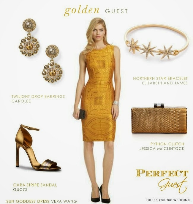 Golden Wedding Guest
