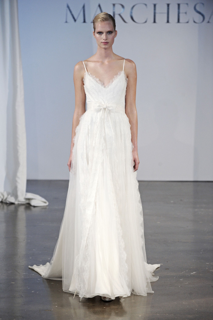Beautiful Wedding Dresses for 2014: Marchesa Look 15