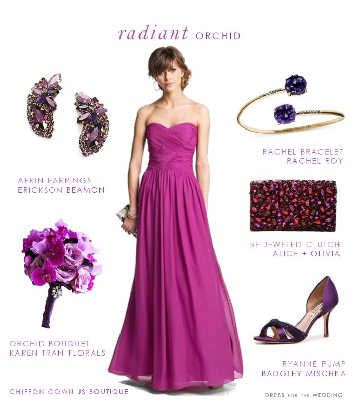 Radiant Orchid Dress