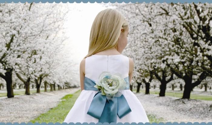 Annie Girl Customizable Flower Girl Dresses
