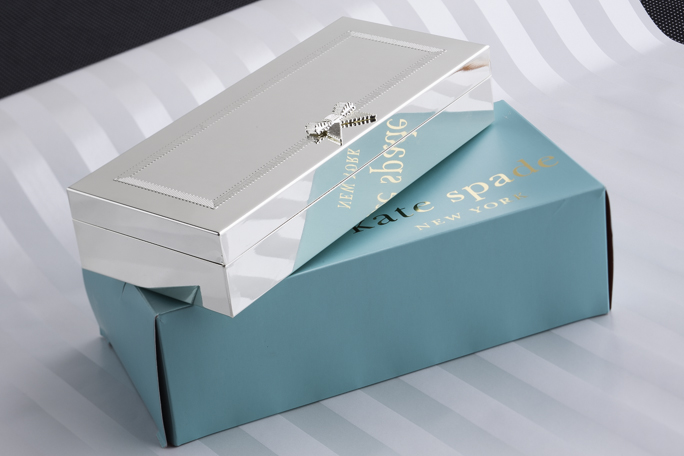 grace avenue silver box by kate spade new york wedding gift