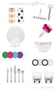 kate spade wedding gift ideas
