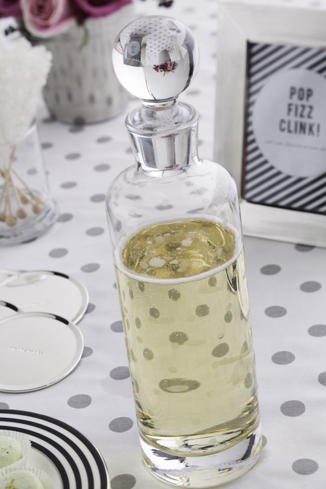 larabee dot decanter by kate spade new york bridal shower idea