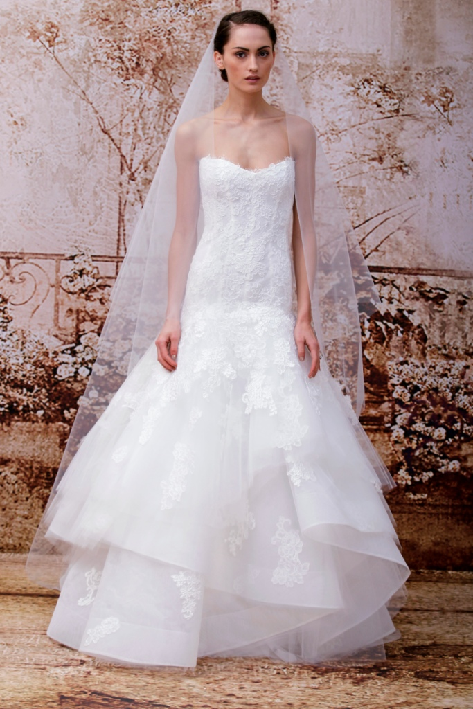 Louisa Wedding Dress by Monique Lhuillier Fall 2014 Collection