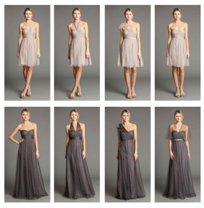 Nabi by Jenny Yoo Convertible Bridesmaid Dresses