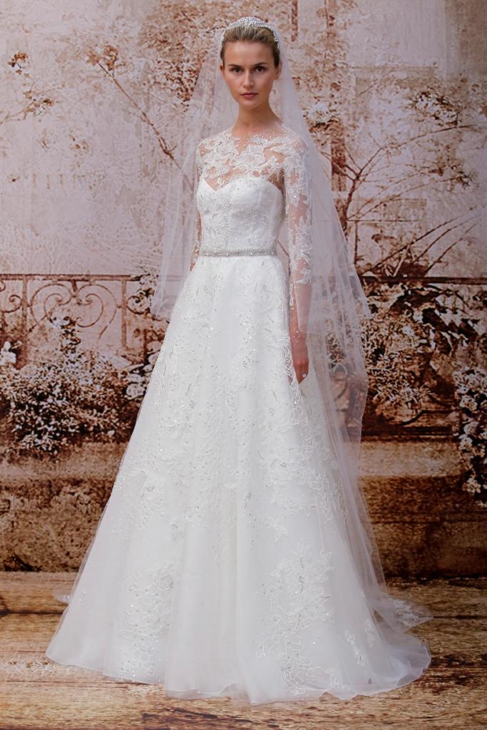 Designer wedding dresses for 2014 by monique lhuillier for Monique lhuillier bridal designers