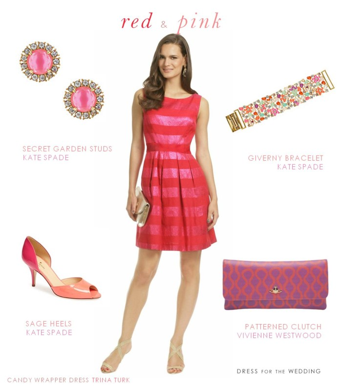 Red and Pink Dress for Valentine&-39-s Day