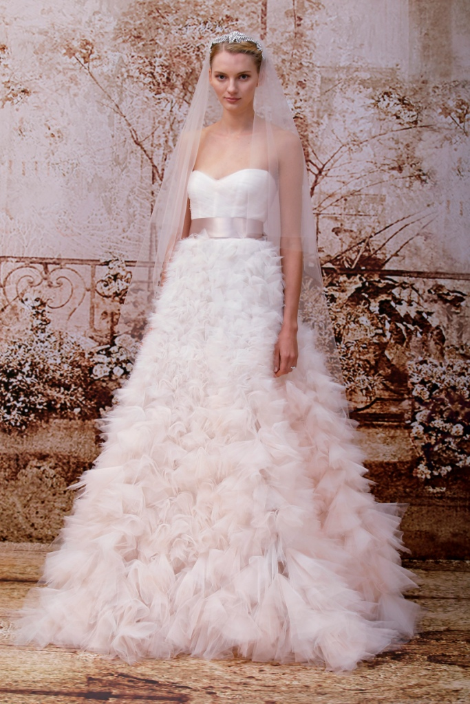 Reese by Monique Lhuillier Couture Wedding Dresses Fall 2014