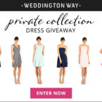 Weddington Way Private Collection - enter to win a dress!
