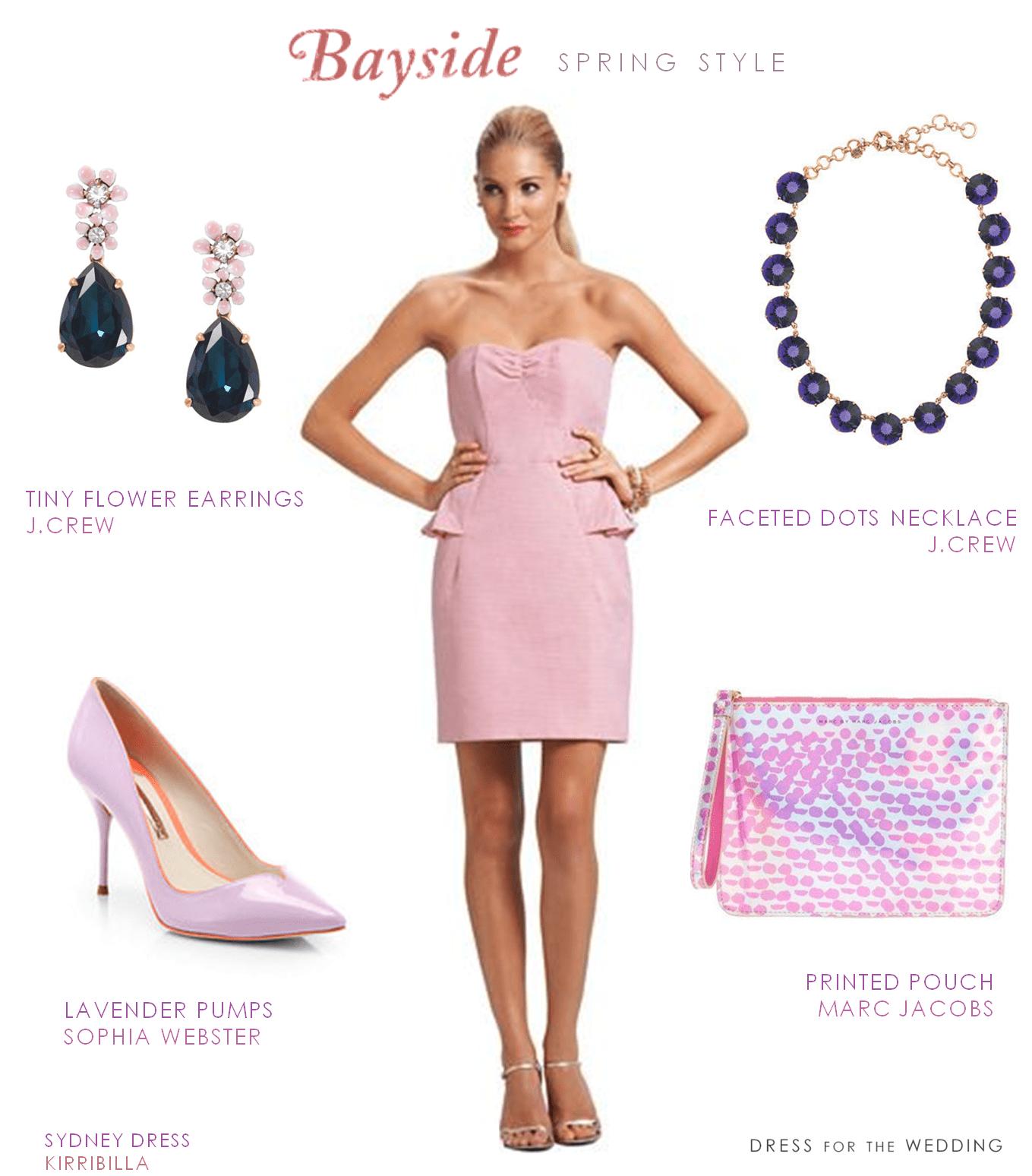 Christmas wedding dress jcrew - Pink Strapless Dress