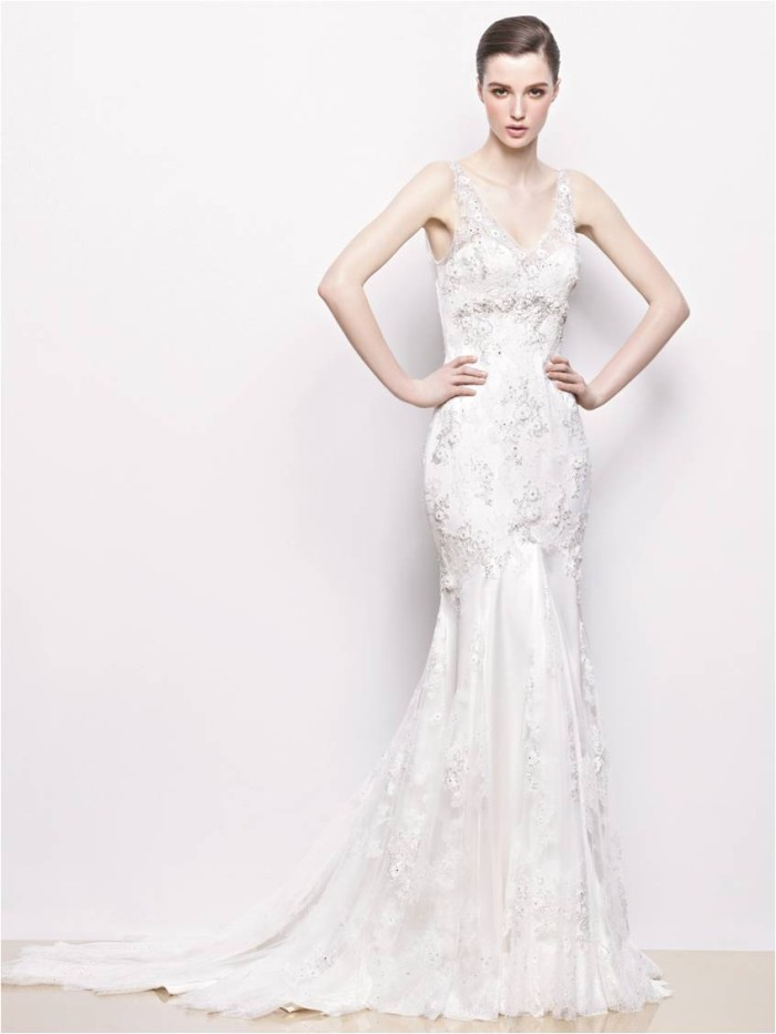Indigo Enzoani 2014 Collection Wedding Gowns