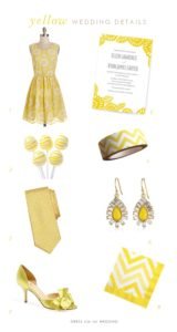 Yellow Wedding Ideas