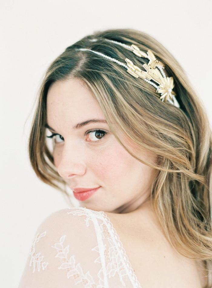 blythe bridal headband hushed commotion