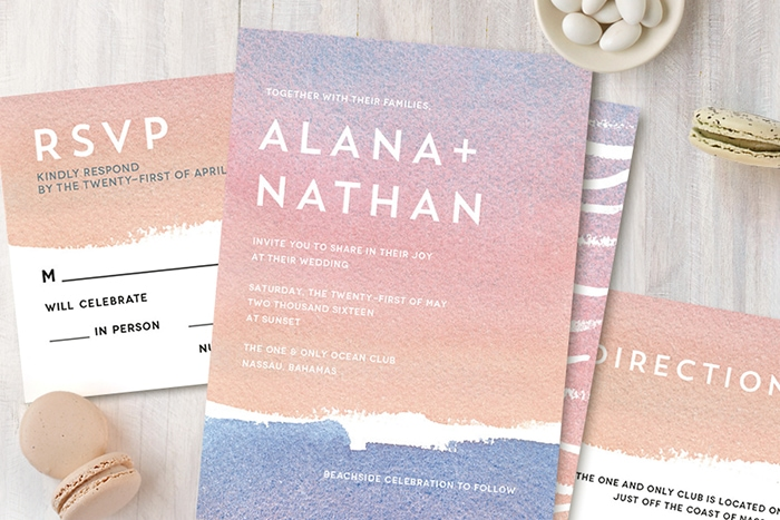 Wedding Invitation Giveaway: $200 Wedding Invitation Giveaway From Minted