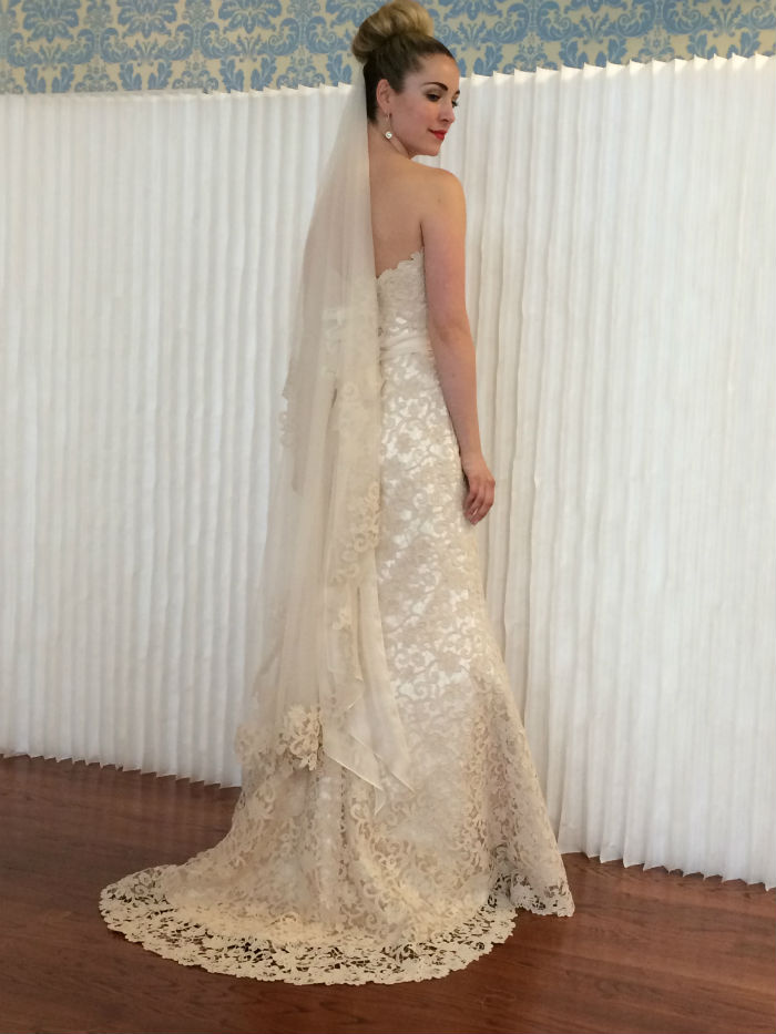 Bridal Market Modern Trousseau Gown