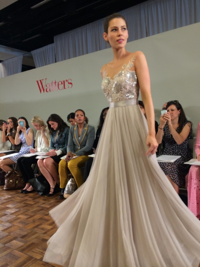 Fall 2015 Watters Wedding Dresses Bridesmaid Bridal Market