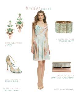 Dress for a Bridal Brunch