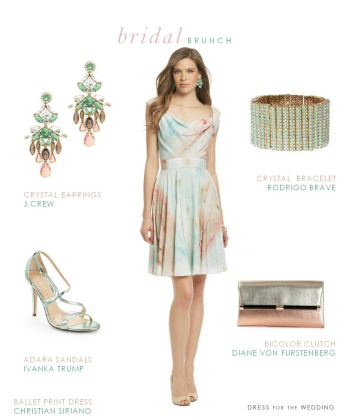 dress for a bridal brunch