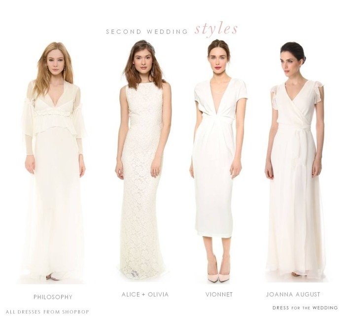 Second Marriage Wedding Dress: Wedding Dresses For A Second Marriage