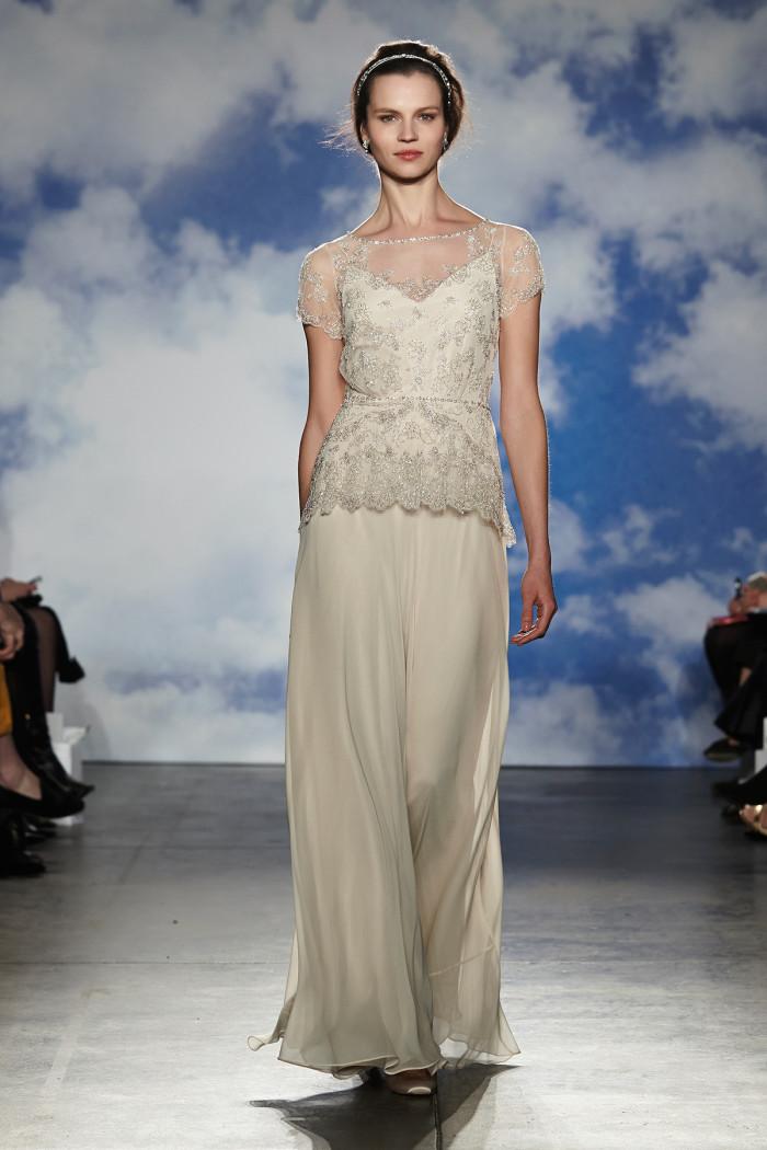 Wedding dresses by jenny packham for spring 2015 for Jenny beckman wedding dresses