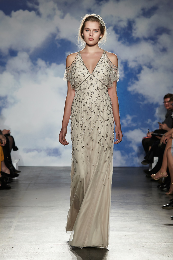 Runway images of Jenny Packham Wedding Dresses Spring 2015