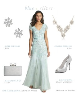Light Blue Dress for the Mother of the Bride