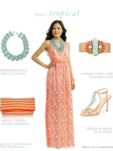 Coral Wedding Attire Ideas Dress For The Wedding