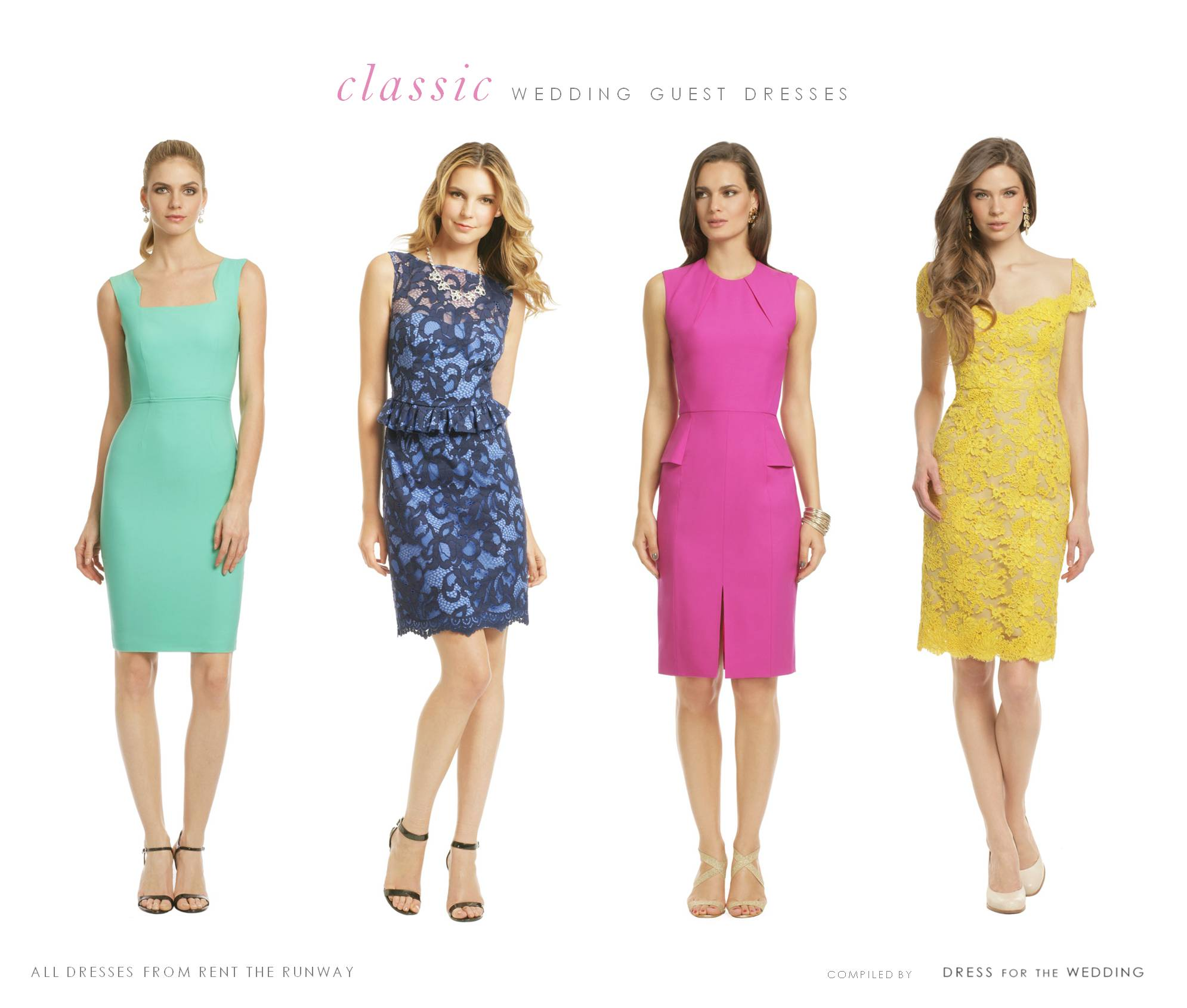 Summer Wedding Guest Dresses for Rent | Guest of Wedding Dresses