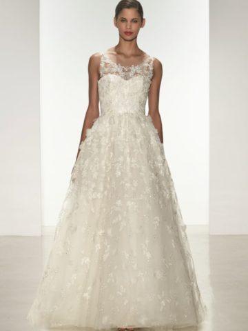 Drake Amsale Spring 2015 Wedding Dress