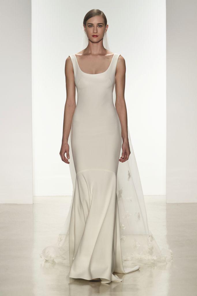 Morgan Amsale Spring 2015 Bridal Gown