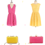 Pink and Yellow Wedding Styles