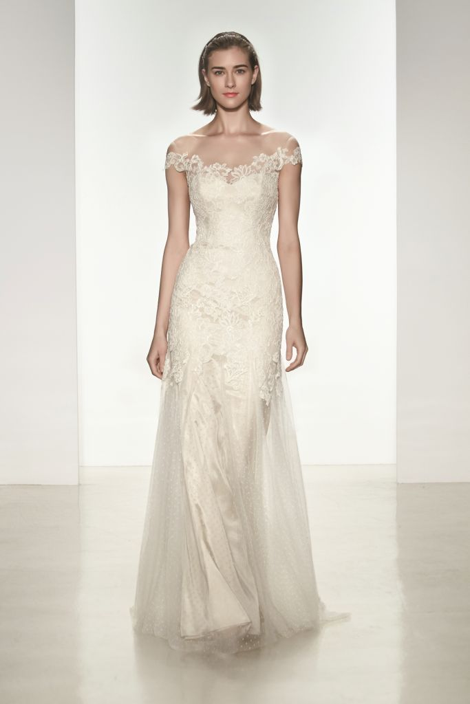 Simona Wedding Dress from Christos Spring 2015 Bridal Collection