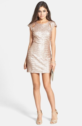 Blush Bachelorette Party Dress