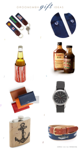 8 Great Gift Ideas for your Groomsmen